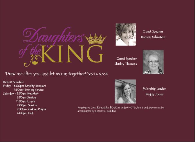 Daughters of the King Featured Graphic