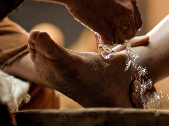 Jesus Washed Feet